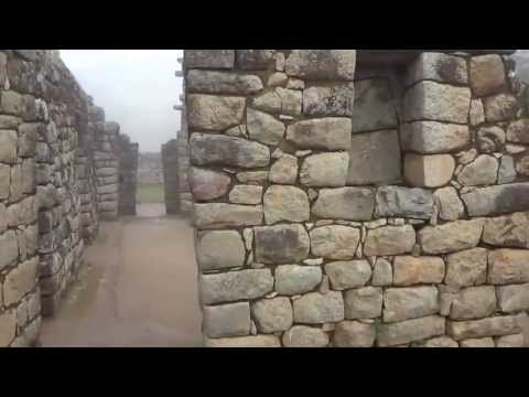 Some view of Inca buildings at Machu Picchu