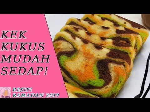 #6 Kek Kukus Mudah ( Menu rumah terbuka) #resepisyawal2019 #juadah#kek#kekkukus