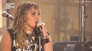 Miley Cyrus - Unholy (Live at Primavera Sound Festival) [HD]