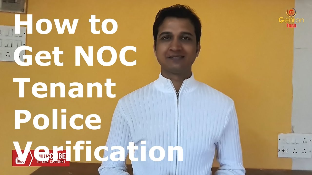 How to Get Tenant NOC From Police | Tenant Police Verification