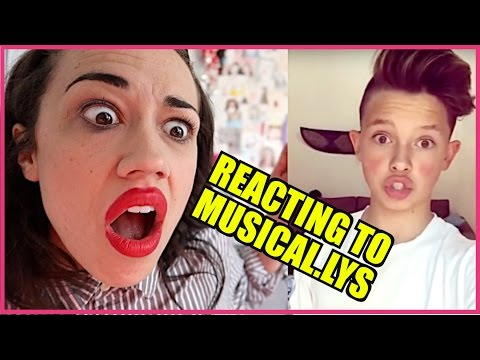REACTING TO JACOB SAGGITARIOUS MUSICAL.LYS