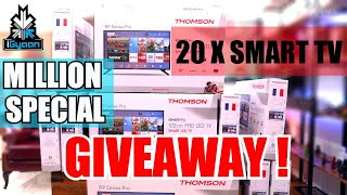 Thomson B9 Pro : Million Special : 20 Smart TV GIVEAWAY