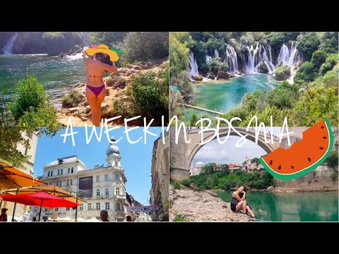 Holiday Vlog! || My week in Bosnia!