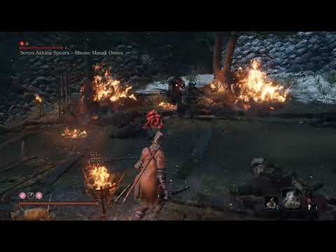 Seven Ashina Spears, second fight (only sword, no cheese)  