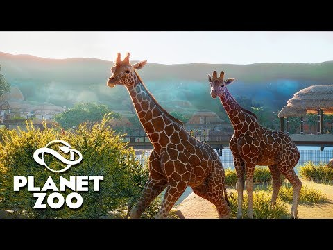 Building The BIGGEST & BEST Zoo On EARTH! | Planet Zoo Building Management Tycoon Beta Gameplay
