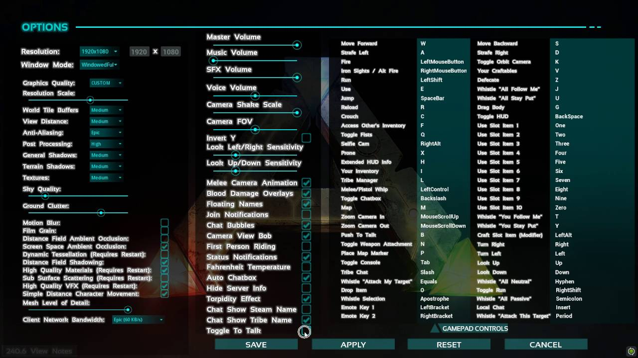 How to Enable Toggle to Talk in Ark SE