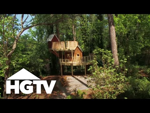 Worldu0027s Best Treehouse Design For Kids   HGTV