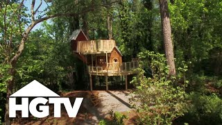 World's Best Treehouse Design For Kids - Hgtv Video
