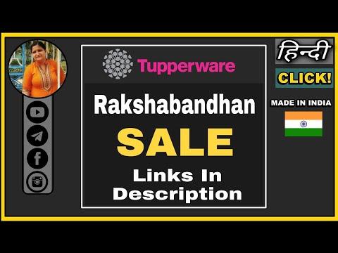 Rakshabandhan Sale On Tupperware Products | Best Tupperware Products 2020 | Tupperware Anita