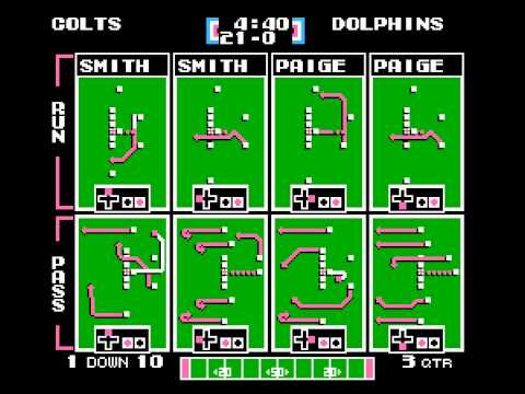 Tecmo ServBowl 2013 - Indianapolis Colts Vs. Miami Dolphins (Game 03)