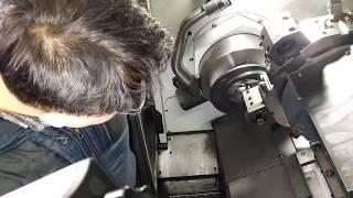 웜기어(선반구간)가공영상입니다.Worm gear (turning section) processing-[쌩초보를 위한 CNC터닝/턴밀]