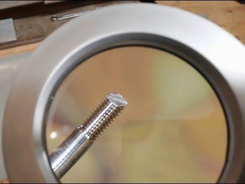 Простейшее приспособление для качественного нарезания резьбы