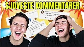 SJOVESTE KOMMENTARER 4!!