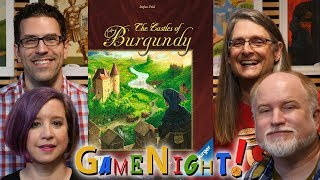 The Castles of Burgundy - GameNight! Se7 Ep31