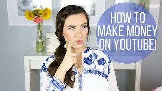 HOW TO MAKE MONEY ON YOUTUBE! | Youtube Series | Hayley Paige