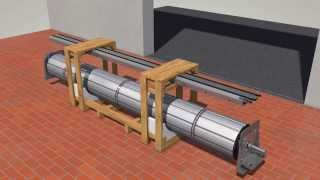 Montageanimation Rolltor DD