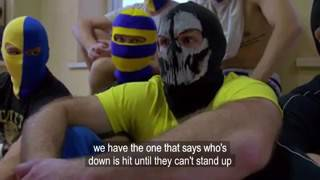 Russia S Hooligan Army Thugs Threaten War With Eng