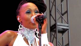 Nile Rodgers & Chic, Diana Ross/Sister Sledge Medley, Damrosch Park, NYC 7-25-12