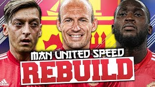 MANCHESTER UNITED SPEED REBUILD!!! FIFA 18 CAREER MODE WITH JARRADHD