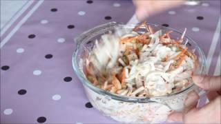 Правильное питание/ Салат с кальмарами/ Squids salad