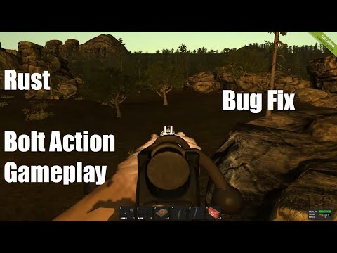 Rust : Silenced Bolt Action Rifle Game Play thumbnail