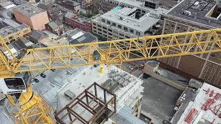 10-12-2019 New Orleans, La Hard Rock Hotel collapse drone shots fom multiple angles