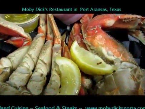 Moby Dick S Restaurant In Port Aransas Texas