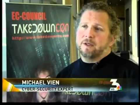 Secure Ninja's Chief Hacking Officer Michael Vien on NBC News