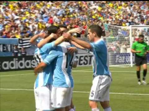 Doblete De Leo Para El 3-4 - Brasil 3 X 4 Argentina - Amistosos  - 09-06-2012