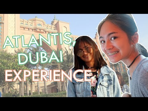 ATLANTIS THE PALM DUBAI EXPERIENCE | VLOG#45 // ItsKrizette