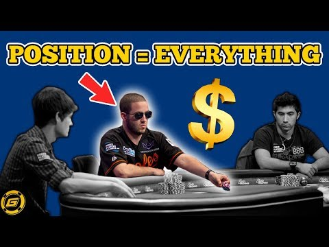 How To Play Poker For Beginners ? What is Position? - Why Position is Everything in Poker ? - 동영상