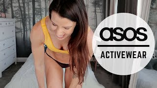 ASOS CHATTY UNBOXING HAUL & TRY ON | NEW ACTIVEWEAR COLLECTION!