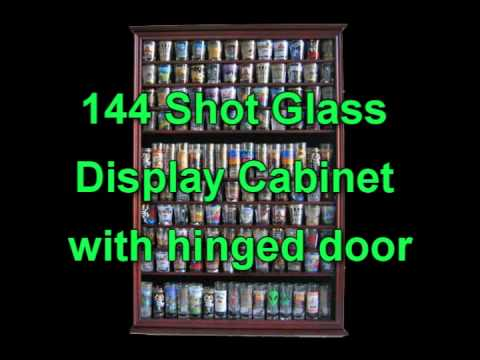 Shot Glass Display Cases From Displaygifts Youtube