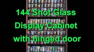 Shot Glass Display Cases From Displaygifts.com