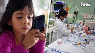 6 enfermedades que los celulares le provocan a los niños. URGE COMPARTIR