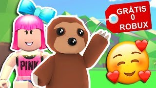 HOW TO GET THE NEW PET FREE SLOTH IN THE ADOPT ME OF ROBLOX (WITHOUT ROBUX)