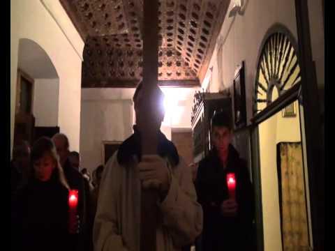 Viacrucis en el Monasterio de San Antonio el Real