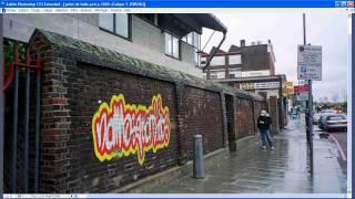 Tutorial photoshop francais creer un graffiti et l'integrer sur un mur