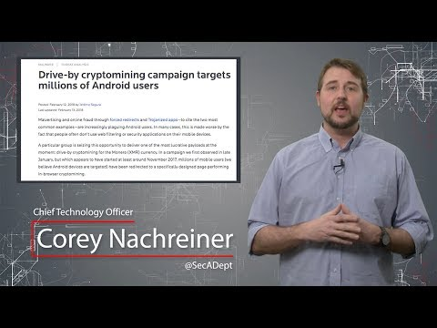Malicious Android Crypto-Mining - Daily Security Byte