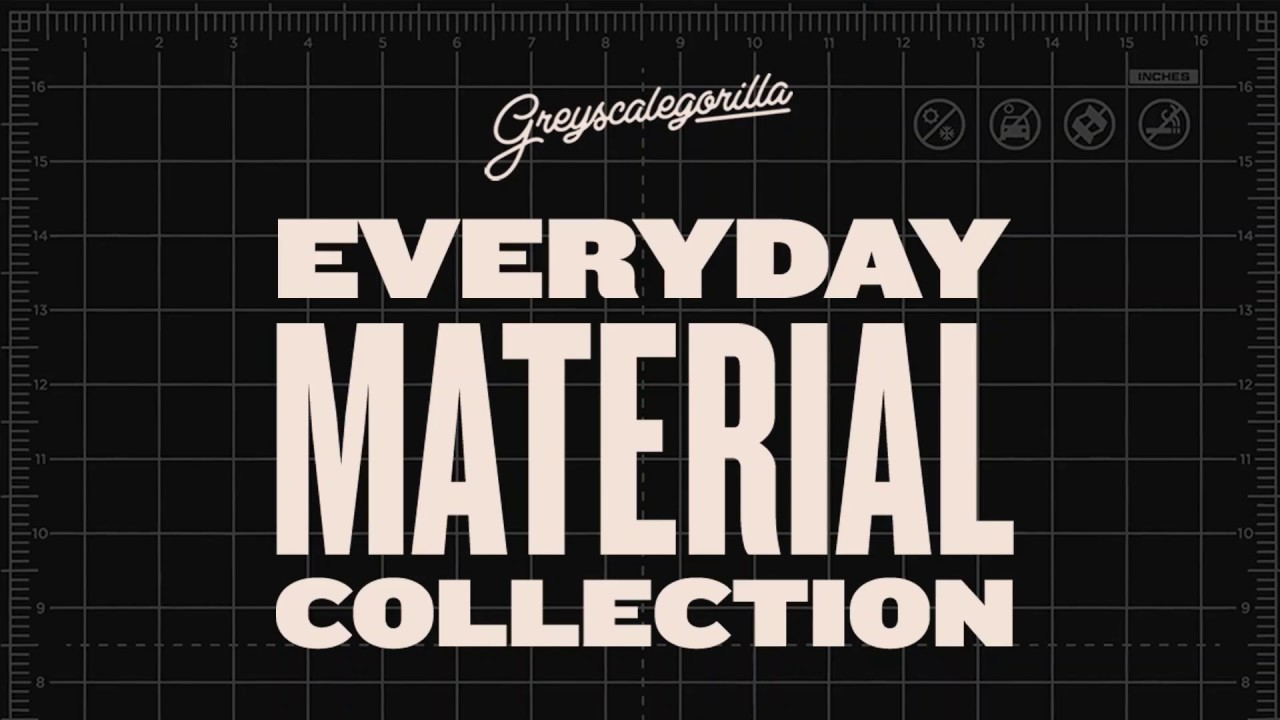 Everyday Material Collection | Greyscalegorilla 3D Assets
