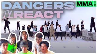 Download Dancers React to BTS 방탄소년단 'Dionysus' MMA Dance Practice