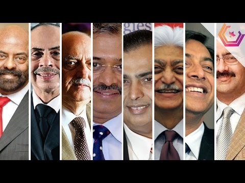 Richest Men in India - List of Top Billionaires People 2016/2017