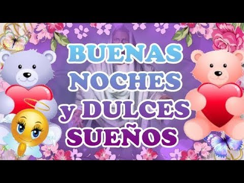 buenas noches y dulces sueños amor