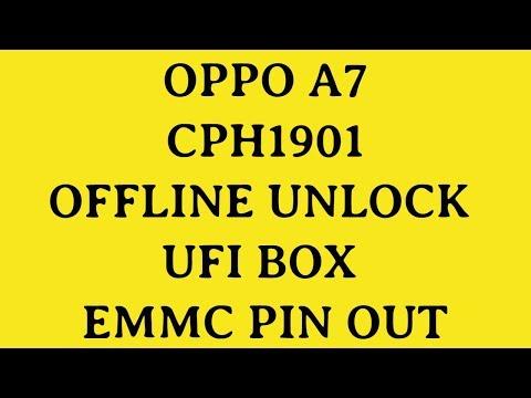 OPPO A7|CPH1901|PIN UNLOCK|OFFLINE FLASHING|FRP REMOVE|FRP