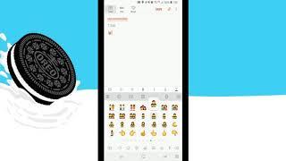 New s8 Oreo Beta Emoji