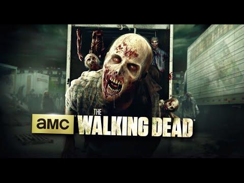 Walking Dead Maze  Universal Studios Hollywood  Halloween Horror Nights