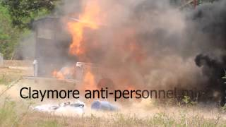 Claymore anti-personnel mine .wmv(, 2012-04-29T05:01:42.000Z)