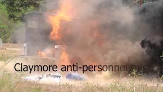 Claymore anti-personnel mine .wmv(, 2012-04-29T05:01:42.000Z)