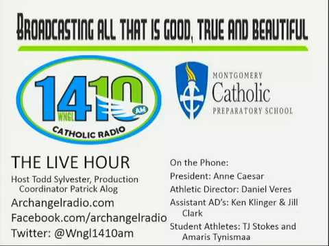 Montgomery Catholic Athletics on the Live Hour WNGL Archangel Radio