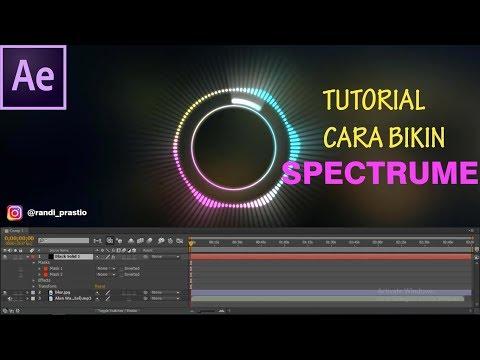 TUTORIAL Adobe After Affect Music Audio Spectrum thumbnail